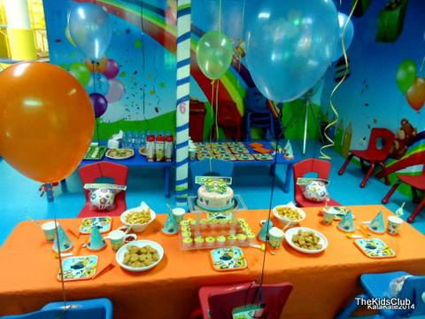 Birthday Party rooms at the Kids Club in Patong.