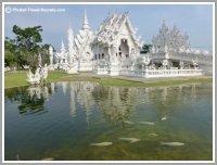 White Temple in Chiang Rai, Thailand.