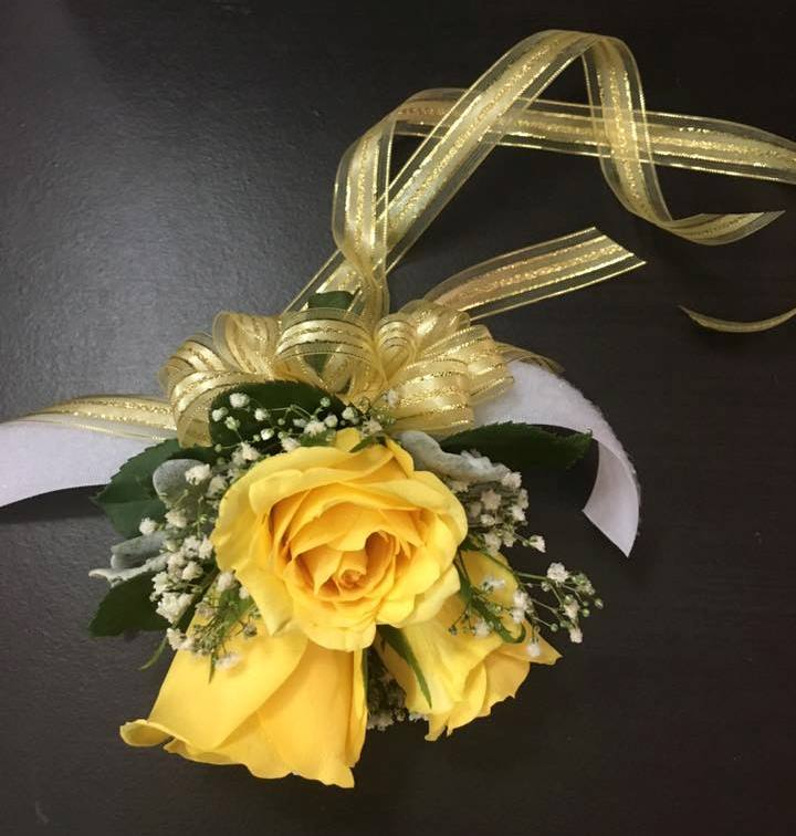 Corsage designed by Toom