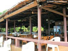 Indoor dining at Sabai Corner