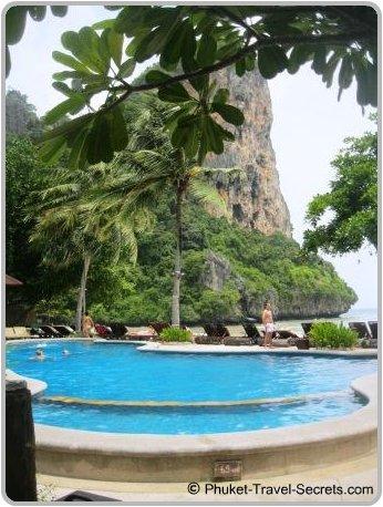 Views from Railay Bay Resort.