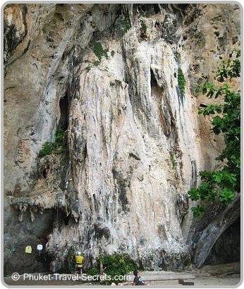 Rock Climbing in Railay, Krabi.