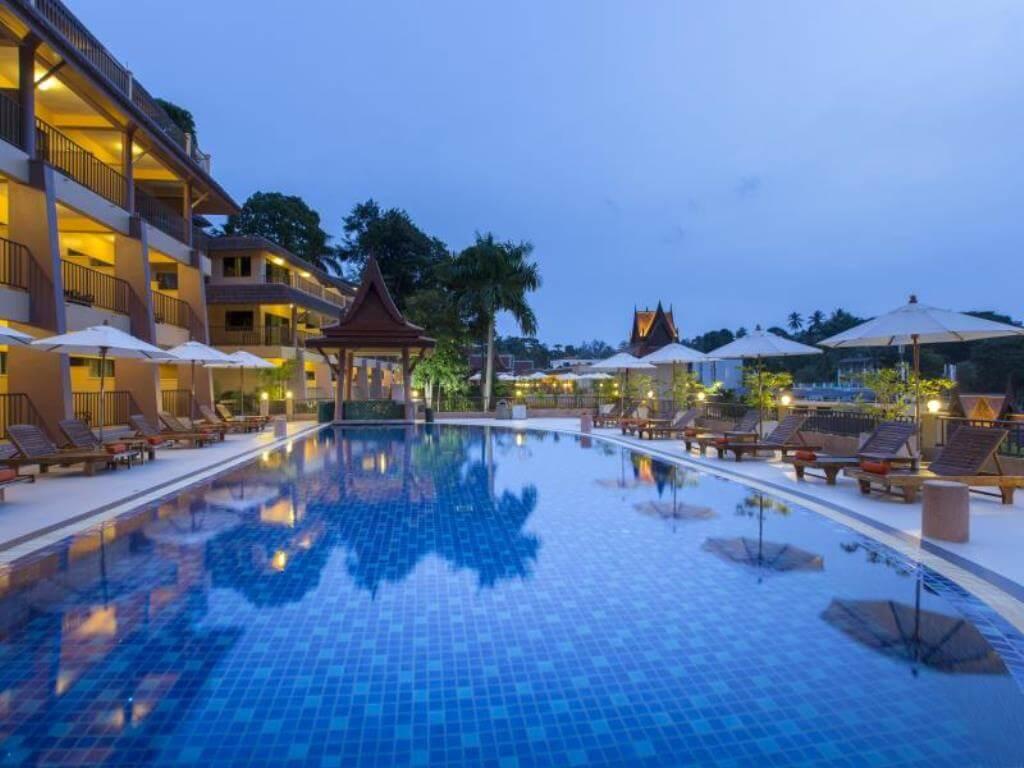 Chanalai Garden resort Phuket Swimming Pools