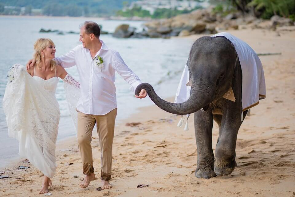 Small ideas for your beach wedding in Phuket