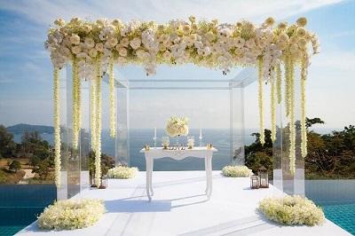 Wedding Ideas for a villa wedding in Phuket