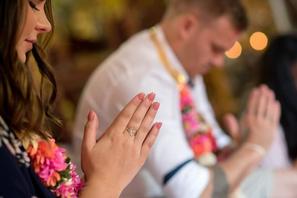 Buddhist Blessing in Phuket