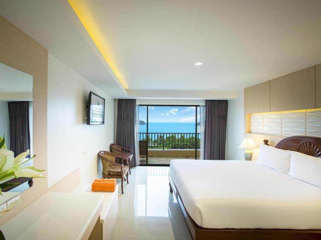 Chanalai Deluxe Sea View Rooms