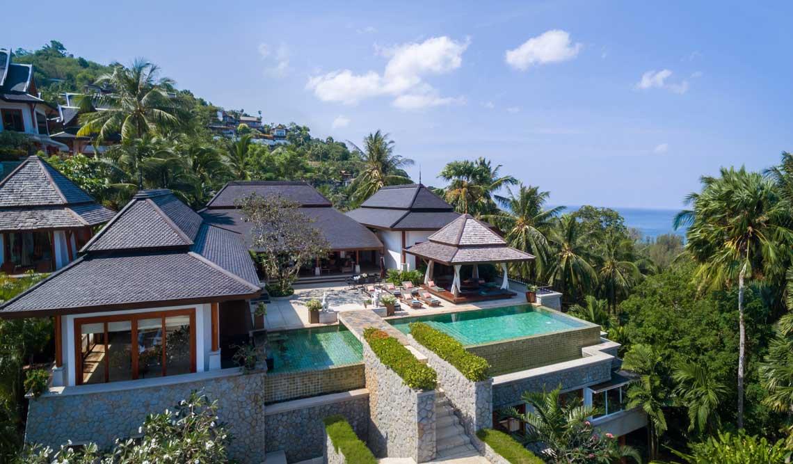 Villa Sanyanga is located near Surin Beach on the West Coast of Phuket.