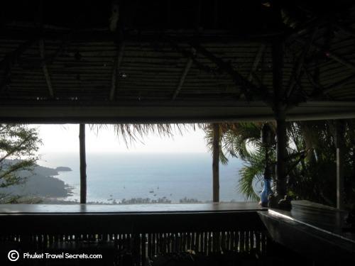 Views of Patong Bay from the bar
