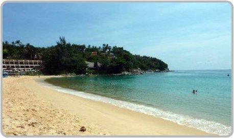 Karon Beach in April.