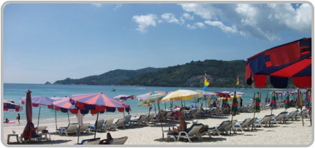Patong Beach in March
