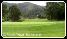 18th green at Loch Palm, Phuket
