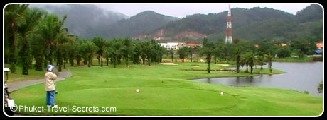 7th Tee at Loch Palm Golf Course, Phuket