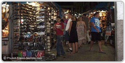 Patong Beach Night Markets, Phuket