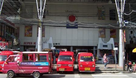 Ocean Plaza shopping centre in Bangla Road, Patong.