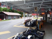 Karts at Patong Go Kart speedway.