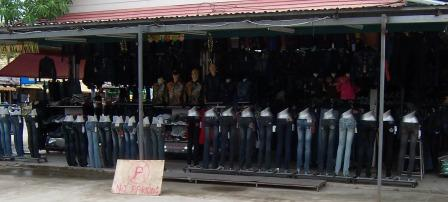 Jeans at OTOP markets in Phuket
