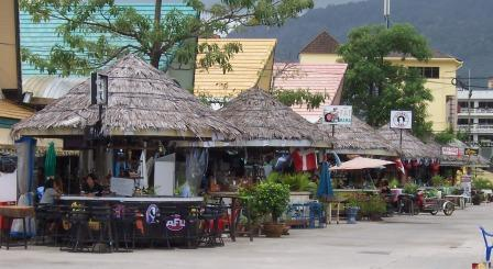 Bars near OTOP markets in Patong