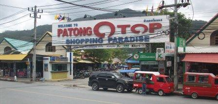 OTOP markets at Patong, Phuket.