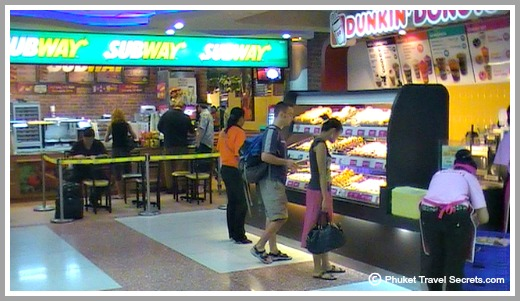Restaurants at Phuket Airport