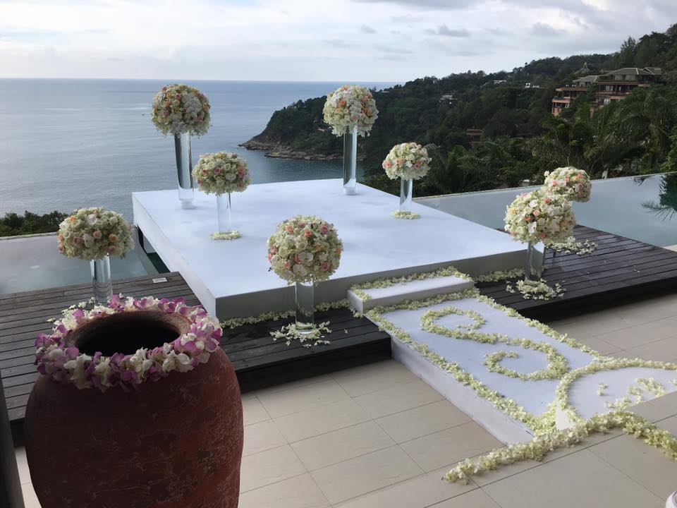 Villa wedding in Phuket