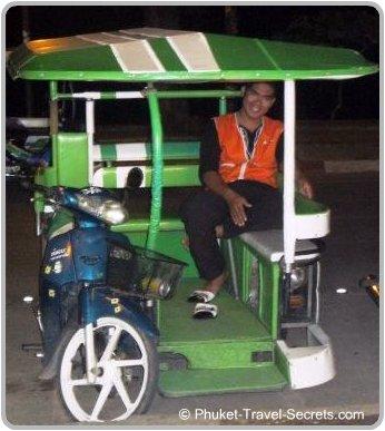 Ao Nang Motorcycle taxi.