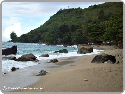 Peaceful slice of paradise at Ao Sane in Phuket.