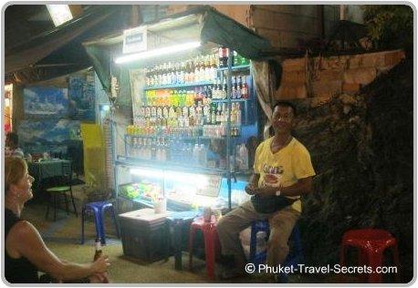 Mr Cocks Street Bar at Ao Nang