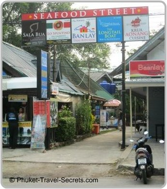 Seafood Street at Ao Nang