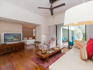 Deluxe suites at the Banthai