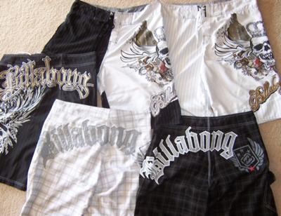 Billabong shorts from Otop Markets Patong