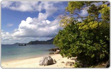 Bon Island just offshore from phuket