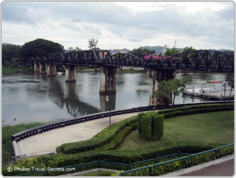 Bridge on the river Kwai.