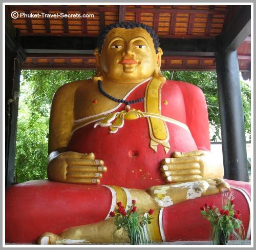 Sangkhachai Buddha at Chedi Luang in Chiang Mai