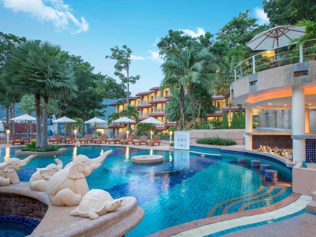 Chanalai Garden resort Swimming Pools