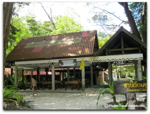 Cafeteria at Similan Island #4