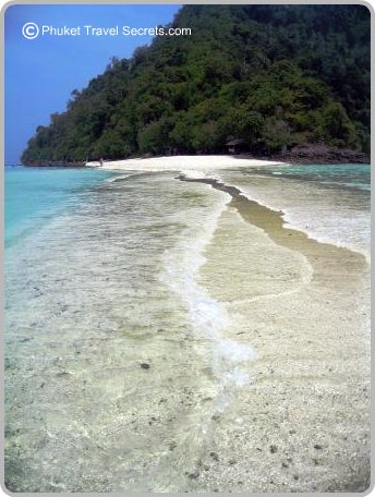 View of Chicken Island from Tup Island.