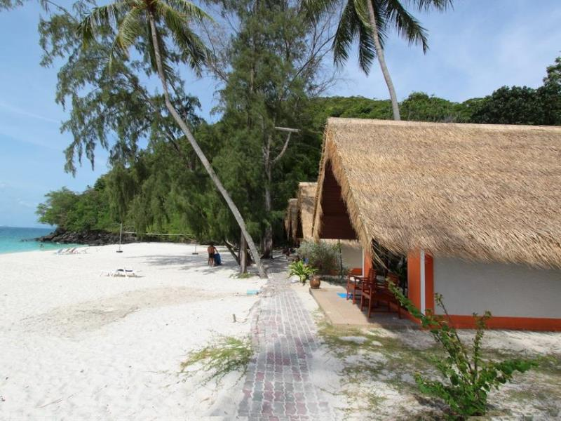 Bungalows at the Coral Island Resort