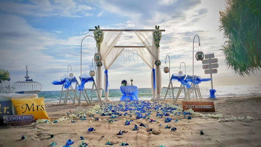 Beach Wedding Ideas in Phuket
