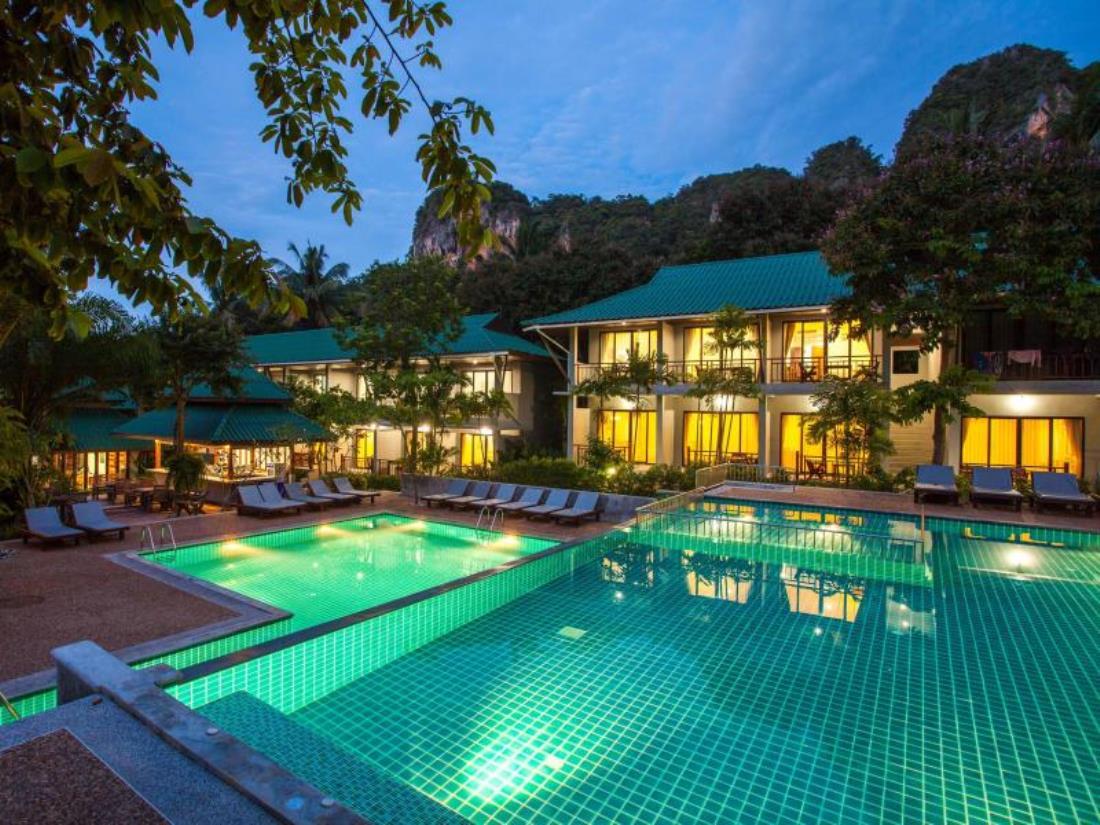 Dream Valley resort Tonsai Bay Krabi