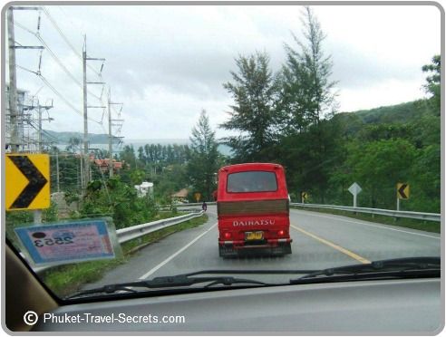Explore amazing sights in Phuket by driving yourself around the Island.