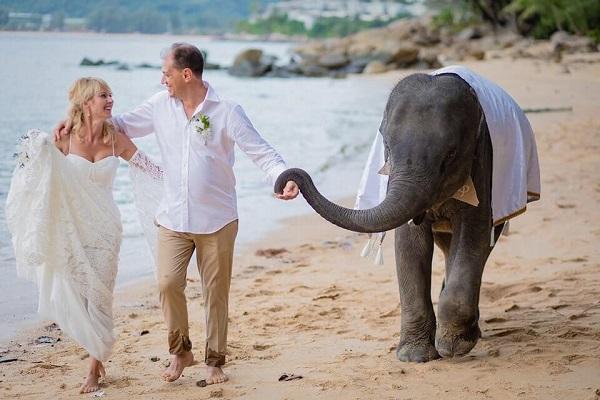 Deluxe Ivory Beach Wedding in Phuket