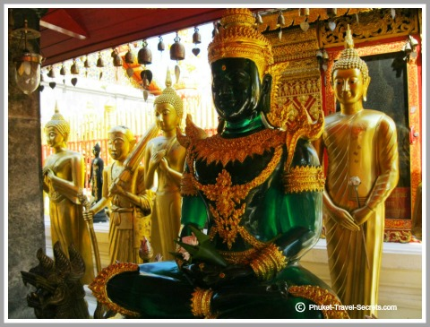 Copy of the Emerald Buddha Statue at Doi Suthep.