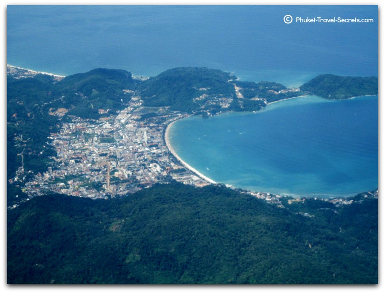 Flights to Phuket - Aerial View