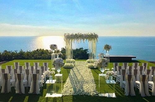 Romantic garden ceremonies in Phuket