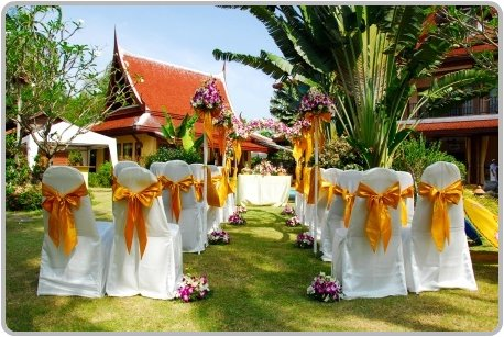 Garden Weddings in Phuket