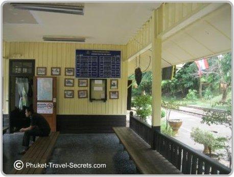 Nam Tok Railway Station.