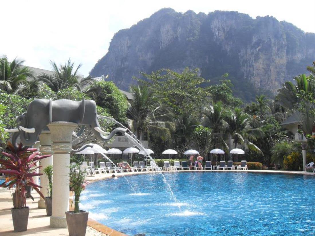 Golden Beach resort, Krabi
