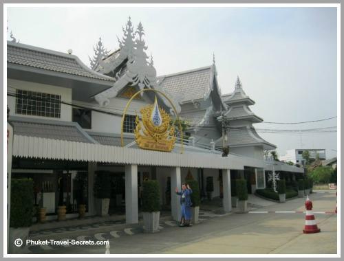 Hall Of Masterworks art gallery at Wat Rong Khun.