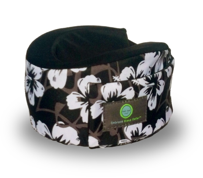 Hawaiian Print Sleep Collar